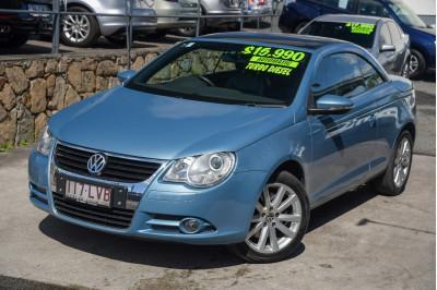 2009 Volkswagen Eos 1F MY09 103TDI Convertible Image 3