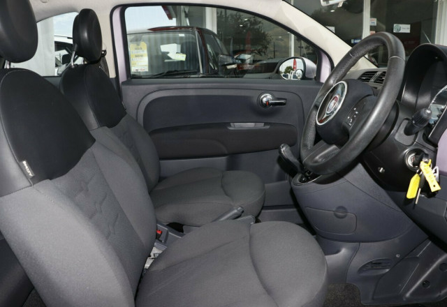 2013 Fiat 500 Series 1 Pop Dualogic Hatchback