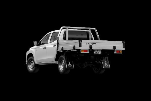 2021 Mitsubishi Triton MR GLX ADAS Double Cab Chassis 4WD Utility Image 3