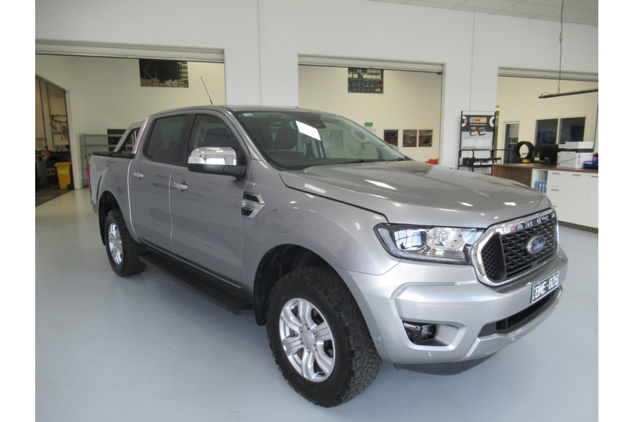 2021 MY21.25 Ford Ranger PX MkIII 2021.25 XLT Utility