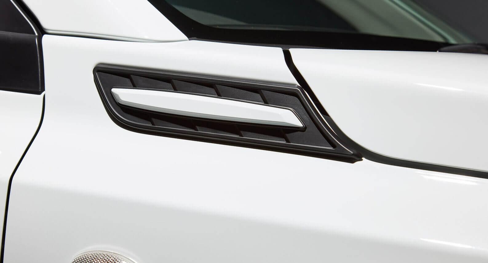 Side Fender Garnish - White