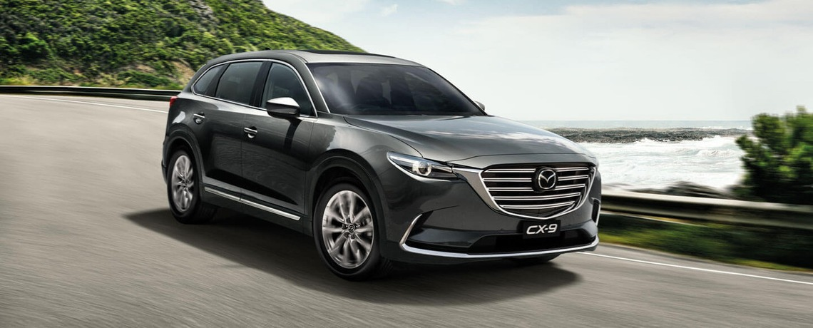 NEXT LEVEL LUXURY FOR NEW MAZDA CX-9
