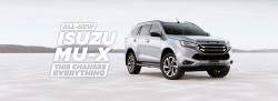 New Isuzu UTE All-New MU-X
