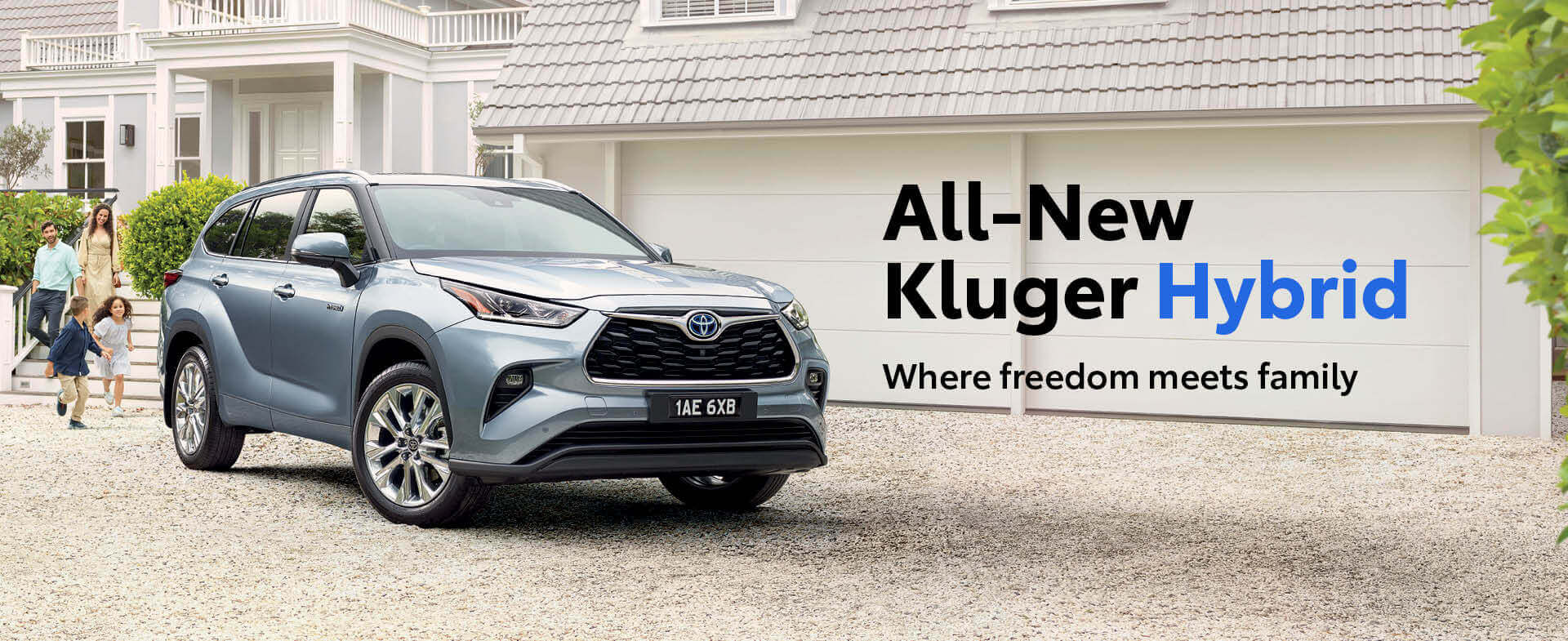 All-New Kluger Hybrid - Where freedom meets family