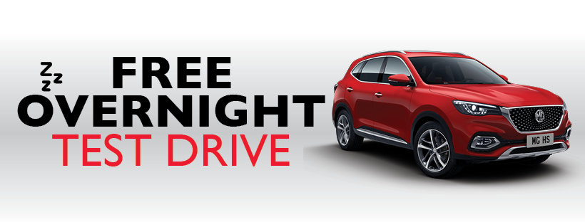 FREE OVERNIGHT TEST DRIVE