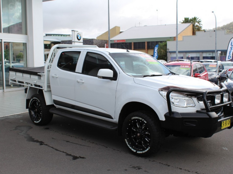 2015 MY16 Holden Colorado RG  LS Cab chassis - dual cab
