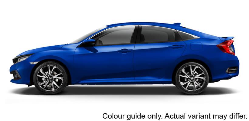 Brilliant Sporty Blue Metallic
