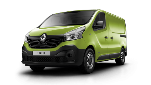 Renault TRAFIC 2018 Plate Clearance - TRAFIC SWB - 85kW Turbo