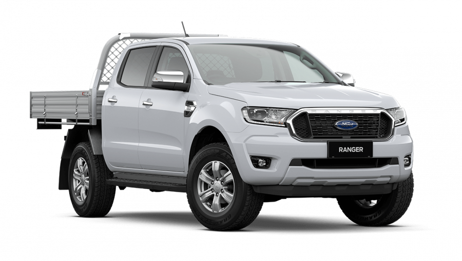 2020 MY21.25 Ford Ranger PX MkIII XLT Double Cab Chassis Utility image 1