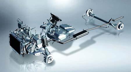 V80 Cab Chassis 2.5 litre turbo diesel engine designed by VM Motori