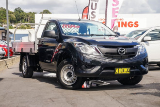 2016 Mazda BT-50 UR XT Cab chassis