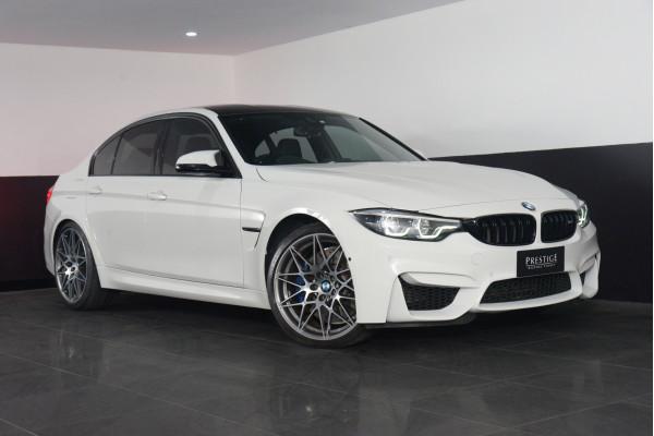 2018 BMW M3 Bmw M3 Competition Auto Competition Sedan