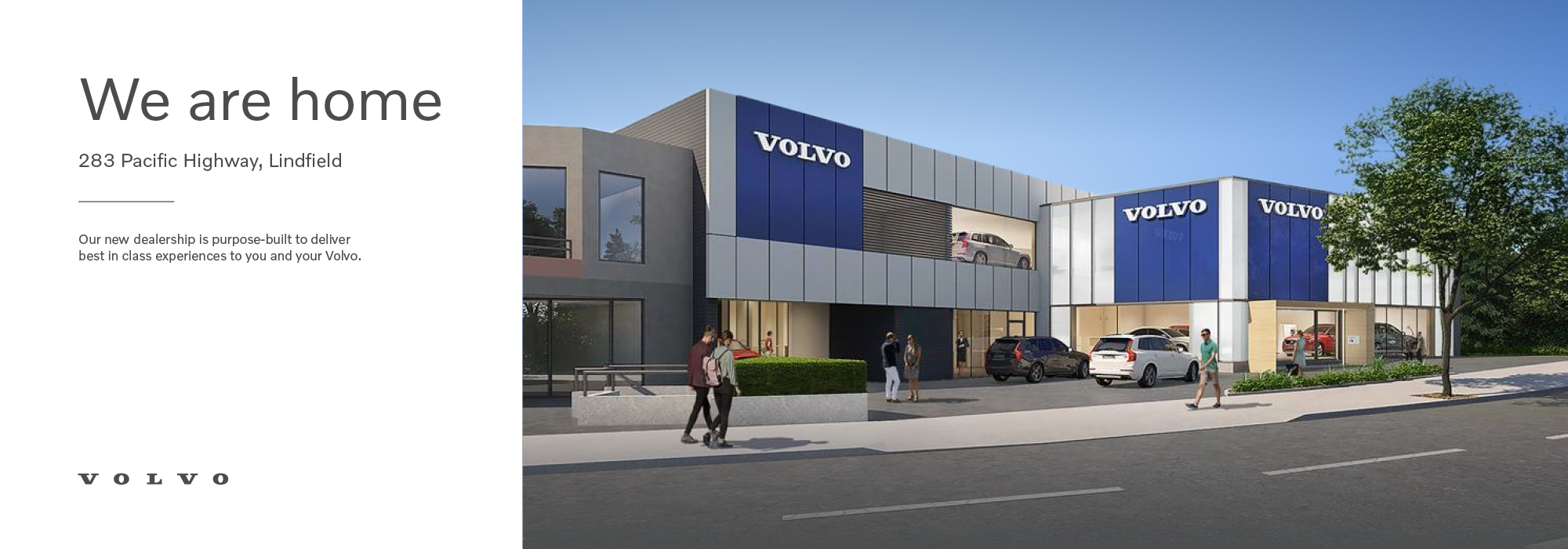 Our new dealership is purpose-built to deliver best in class experiences to you and your Volvo.