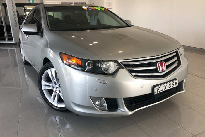 2010 Honda Accord Euro CU MY10 Luxury Sedan