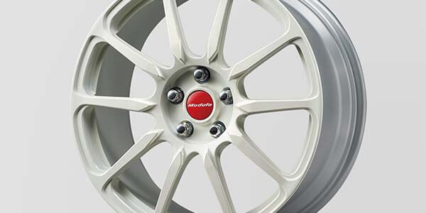 "<img src=""WHITE 20"" FORGED ALLOY WHEELS"