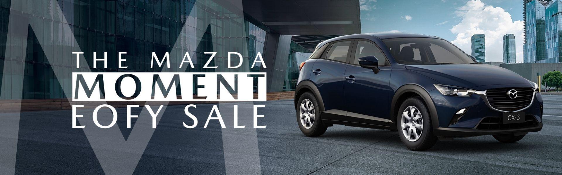 The Mazda Moment EOFY Sale