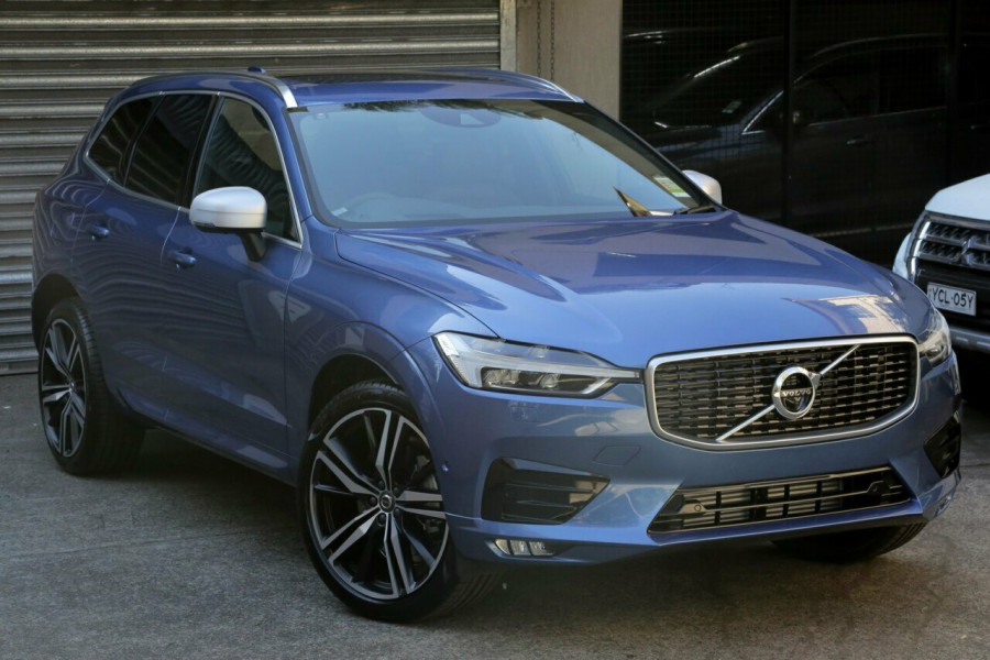 2018 MY19 Volvo XC60 UZ D5 AWD R-Design Wagon