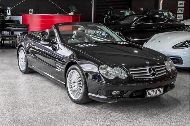 2002 Mercedes-Benz Sl-class R230 MY03 SL55 AMG Roadster