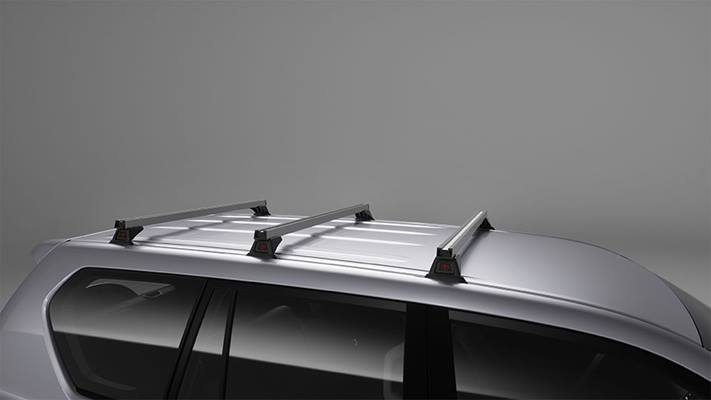 Heavy Duty Roof Rack – 3 Bar Set (Non Roof Rail Type)