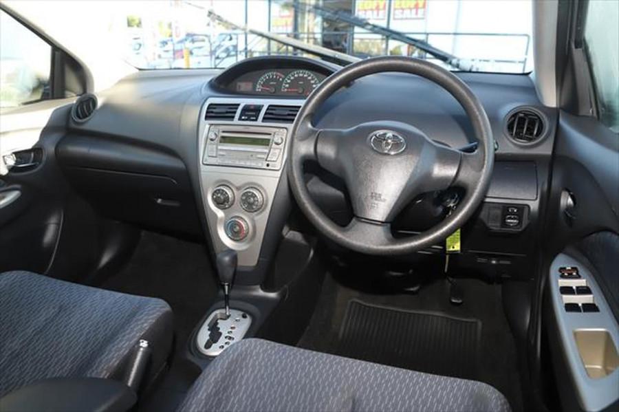 2012 Toyota Yaris NCP93R MY11 YRS Sedan Image 11