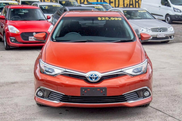 2017 MY16 Toyota Corolla ZWE186R MY16 Hybrid Hatchback Image 3