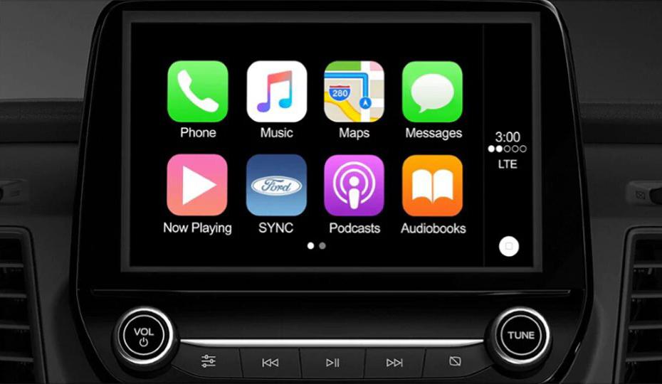Transit Van Apple CarPlay & Android Auto