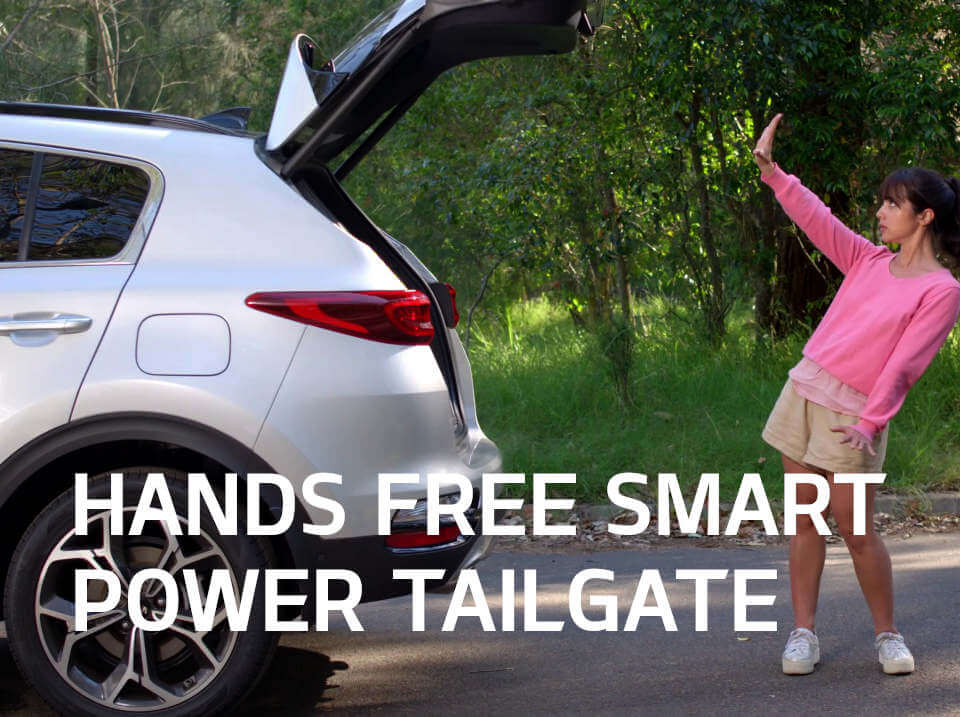 Sportage Hands Free Smart Power Tailgate
