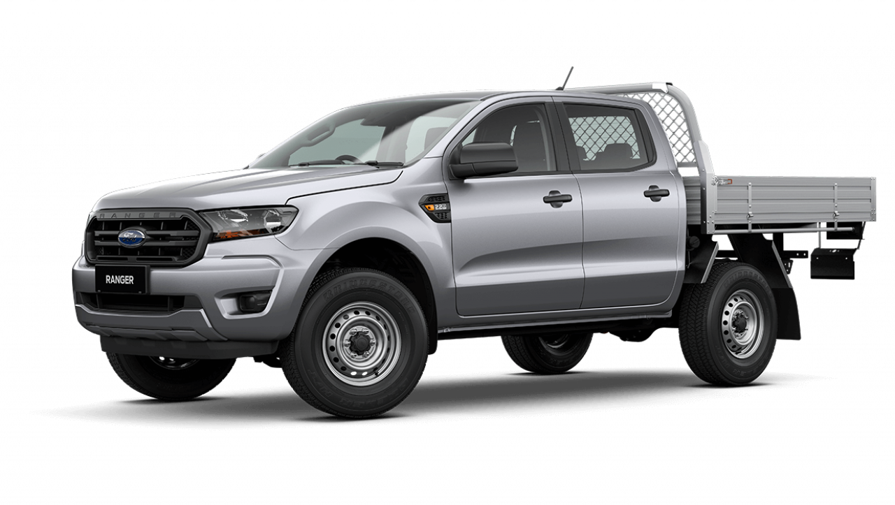 2020 MY21.25 Ford Ranger PX MkIII XL Double Cab Chassis Utility Image 8