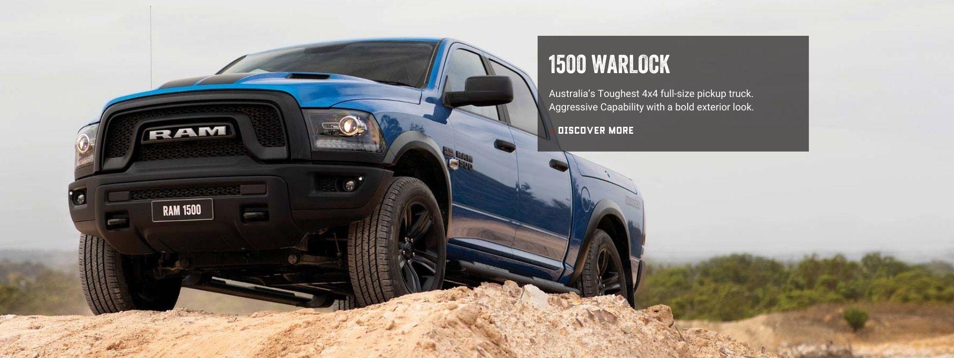 New Ram 1500 Warlock. Book a Test Drive.