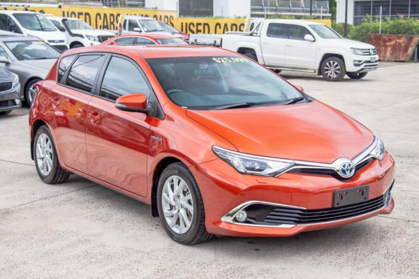2017 MY16 Toyota Corolla ZWE186R MY16 Hybrid Hatchback Image 4