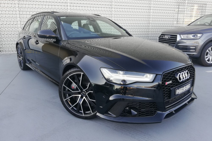 2017 MY18 Audi Rs6 4G MY18 performance Wagon