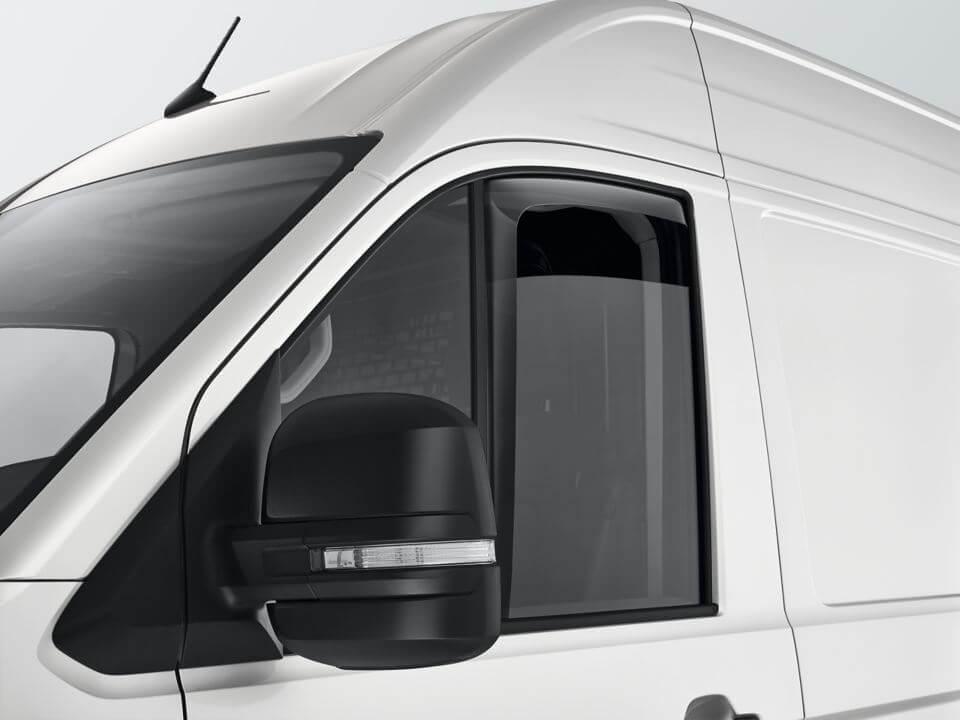 Slimline weather shields Travel and comfort Image