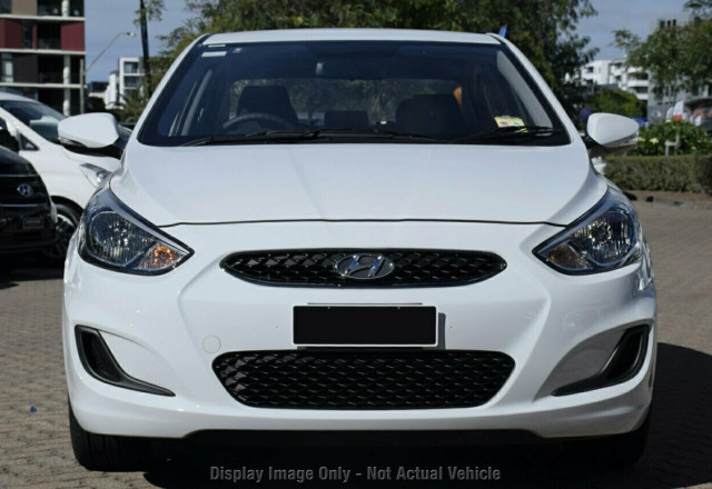 2018 Hyundai Accent RB6 Sport Sedan Sedan