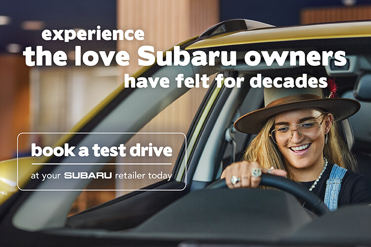 Experience the love book a test drive