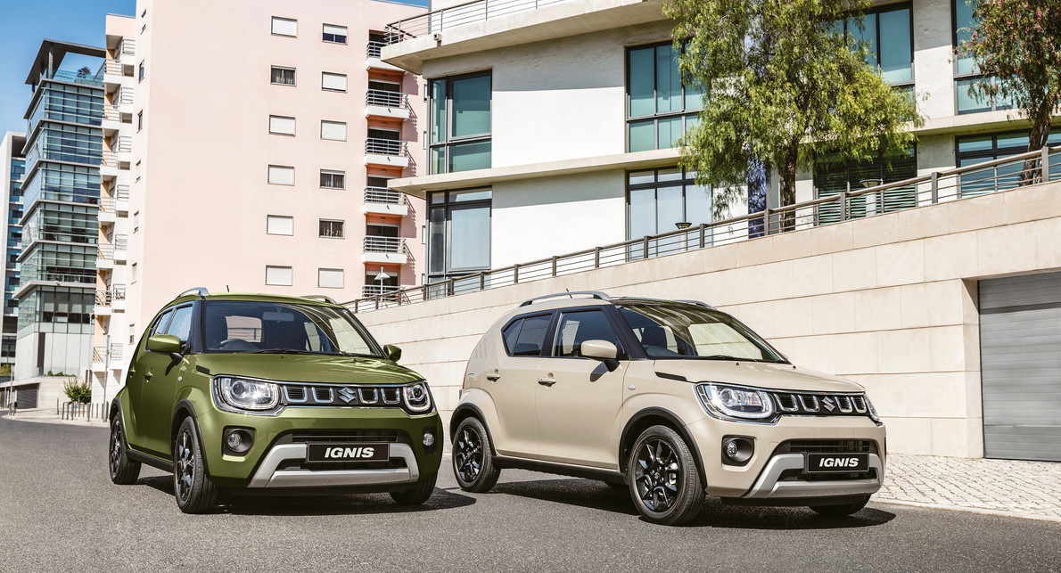 Ignis The only ultra compact SUV