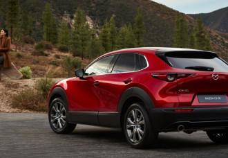 Mazda Motor Corp Unveils Mazda CX-30 Compact Crossover SUV
