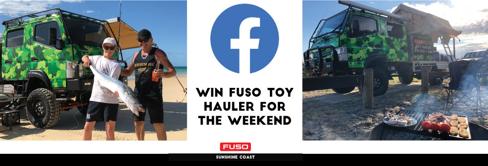FUSO TOY HAULER FACEBOOK COMPETITION