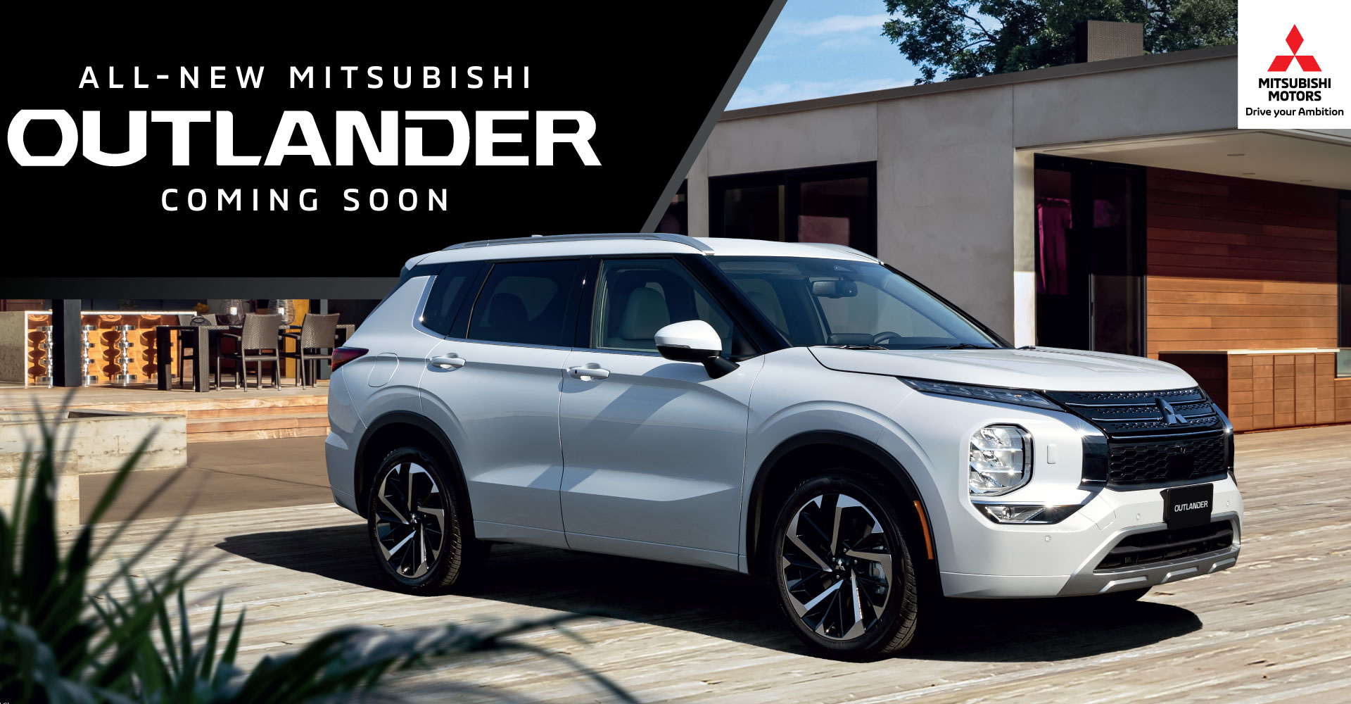 ALL NEW MITSUBISHI OUTLANDER MY22 ARRIVING SOON!
