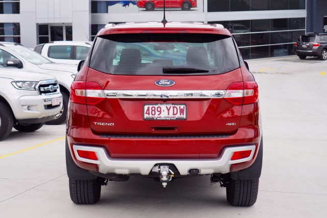 2018 Ford Everest UA Trend 4WD Wagon