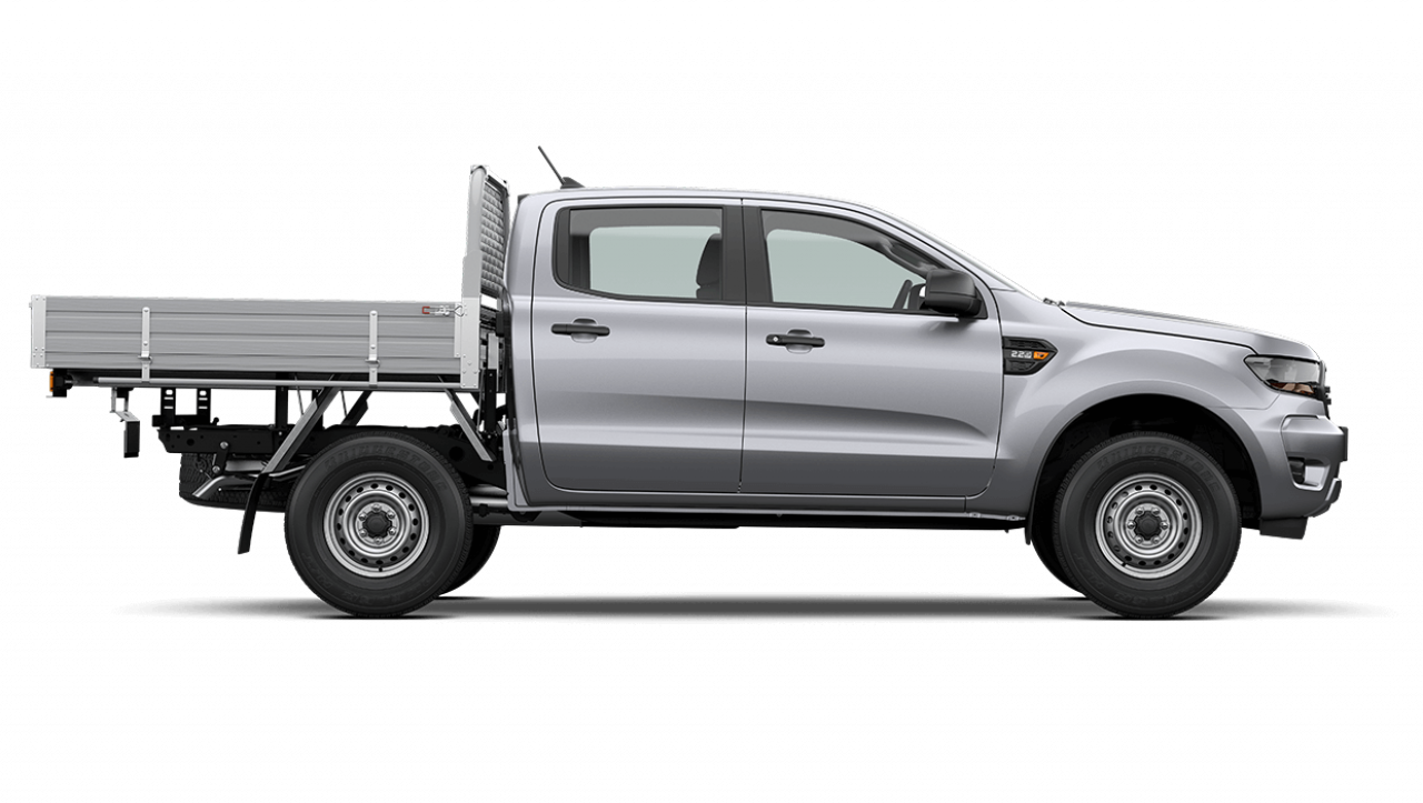 2020 MY21.25 Ford Ranger PX MkIII XL Double Cab Chassis Utility Image 3