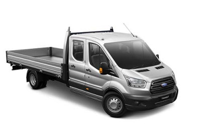 Ford Transit 470E Double Chassis Cab VO