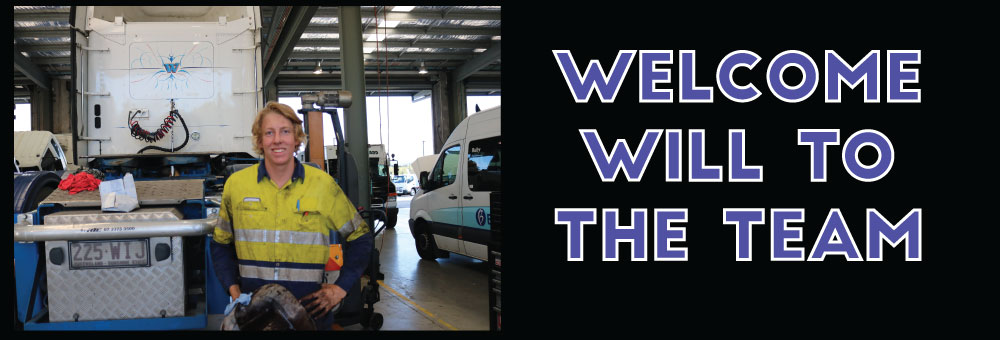 WELCOME TO THE DAIMLER TRUCKS SUNSHINE COAST FAMILY - WILL APPRENTICE DIESEL MECHANIC