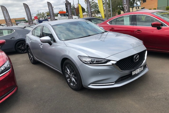 2018 MY19 Mazda 6 GL Series Touring Sedan Sedan