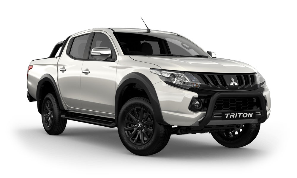 2018 MY17 Mitsubishi Triton MQ GLS  Sports Edition Double Cab Pick Up 4WD Utility