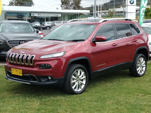 2015 Jeep Cherokee KL Limited Suv