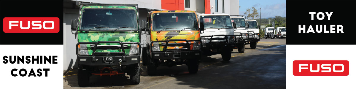 2021 THE YEAR OF THE FUSO 4WD PLAY VEHICLE