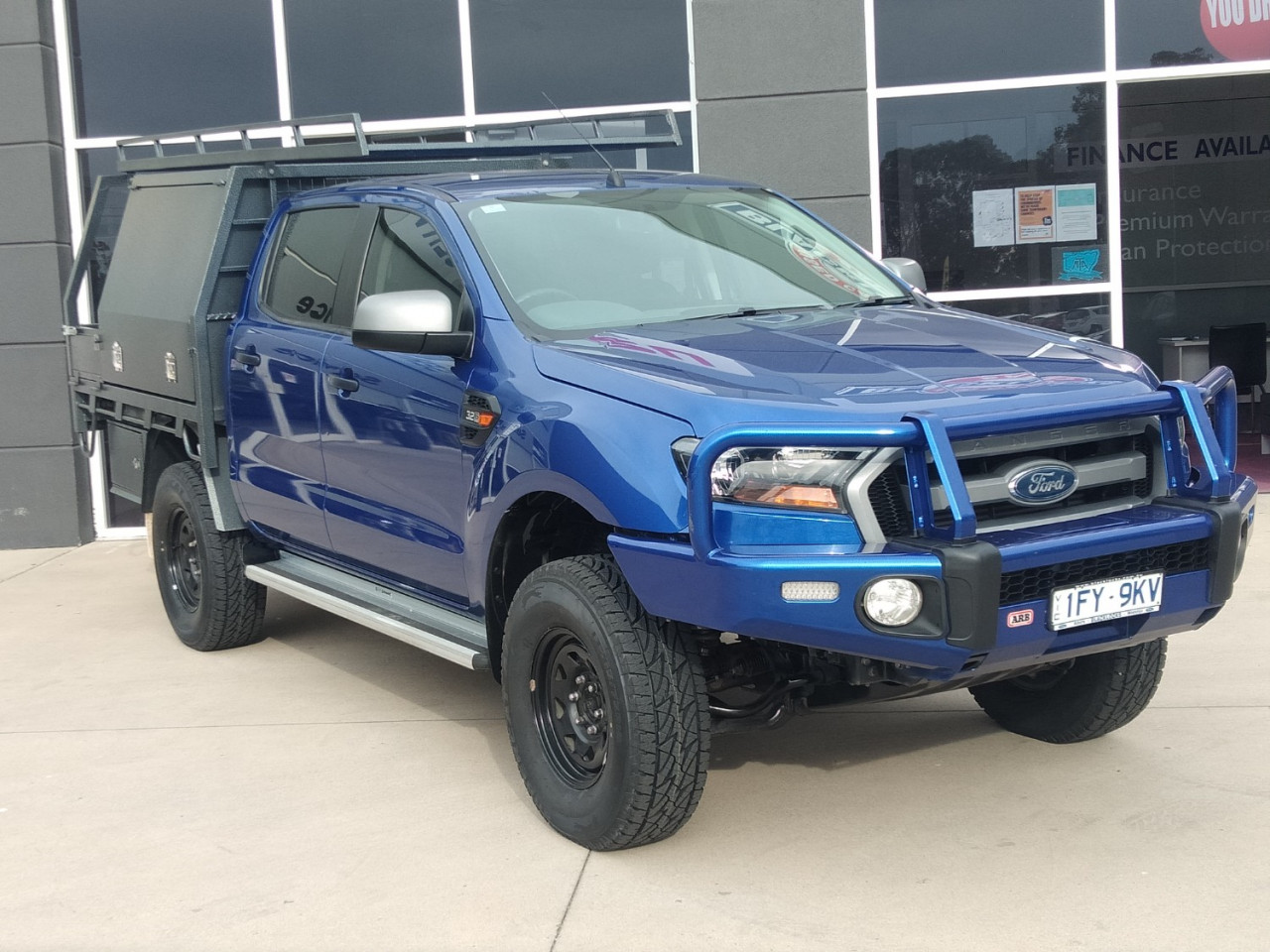 2016 Ford Ranger PX MKII XLS Utility Image 1