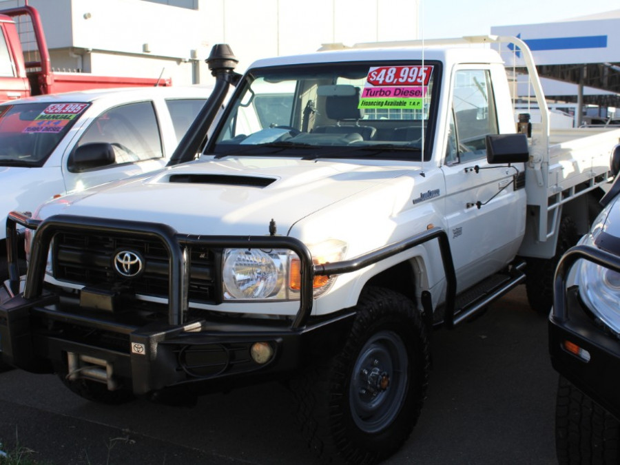 2012 MY10 Toyota Landcruiser VDJ79R  Workmate Cab chassis - single cab