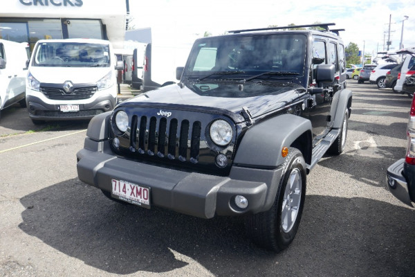 2017 Jeep Wrangler JK Unlimited Softtop