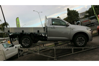 2021 Mazda BT-50 TF XT 4x4 Single Cab Chassis Cab chassis Image 2